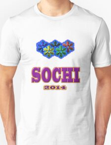 SOCHI 2014 Tees and Stickers T-Shirt