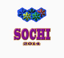 SOCHI 2014 Tees and Stickers Unisex T-Shirt