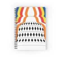 Buddhist Stupa Illustration Spiral Notebook