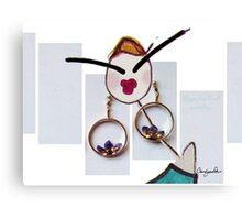 Gypset Soul Earrings Canvas Print