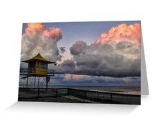 Surfers Paradise Sunset Greeting Card