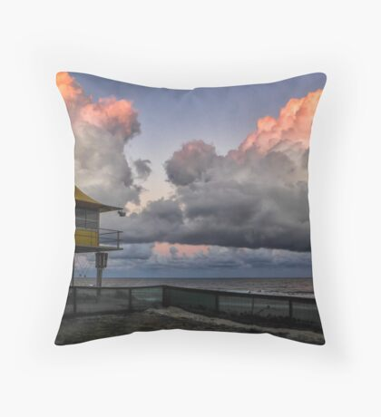 Surfers Paradise Sunset Throw Pillow