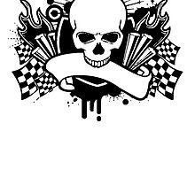 Racing Skull by kwg2200