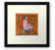 Mad About the Boy Framed Print