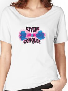 Divide and Conquer  Women's Relaxed Fit T-Shirt
