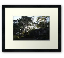 Sunset Sydney Framed Print