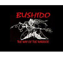 """Bushido:The Way of the Warrior""  Photographic Print"