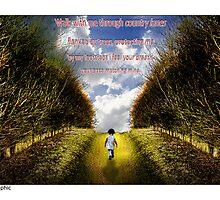 Walk with me - By MoGeoPhoto and Ange Chan by MoGeoPhoto