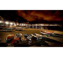 Las Canteras @ Night Photographic Print