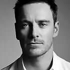 Michael Fassbender Digital Art Portrait by David Alexander Elder