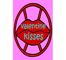 VALENTINE KISSES Photographic Print