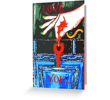 LOVE YOU 9 Greeting Card
