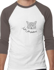 The Cats Whiskers Men's Baseball ¾ T-Shirt