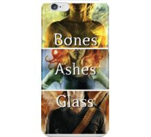 Bones, Ashes, Glass iPhone Case/Skin
