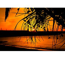 Sunset Arguineguin Photographic Print