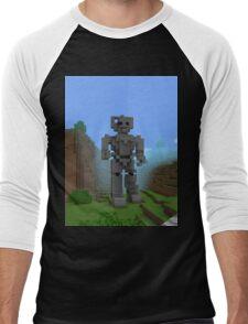 Doctor Who Cyber Men's Baseball ¾ T-Shirt