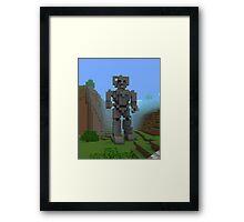 Doctor Who Cyber Framed Print