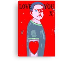 LOVE YOU 10 Canvas Print