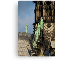 Surfing Notre Dame Canvas Print