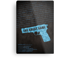 The Great Game fan poster Metal Print