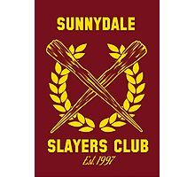 Sunnydale Slayers Club Photographic Print