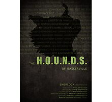 The Hounds of Baskerville fan poster Photographic Print
