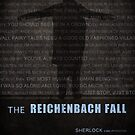 The Reichenbach Fall fan poster by koroa
