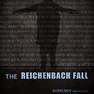 The Reichenbach Fall fan poster by koroa