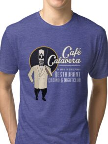 Cafe Calavera Tri-blend T-Shirt