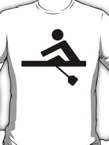 Rowing Crew Pictogram T-Shirt