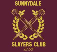 Sunnydale Slayers Club by stuffofkings