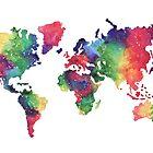 World Map by bridgetdav
