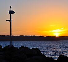 Sunset Jervis Bay by Olivelle