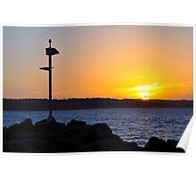Sunset Jervis Bay Poster
