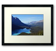 So Banff Framed Print