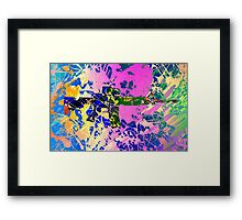 Freedom colors Framed Print