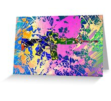 Freedom colors Greeting Card