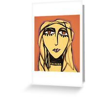 Anthea, Ecstatic Greeting Card