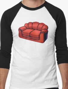 I think I'm a sofa... Men's Baseball ¾ T-Shirt