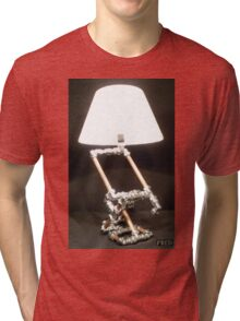 Articulated Desk Lamps - Copper and Chrome Collection - FredPereiraStudios_Page_02 Tri-blend T-Shirt