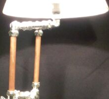 Articulated Desk Lamps - Copper and Chrome Collection - FredPereiraStudios_Page_01 Sticker