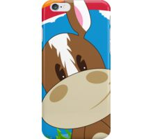 Cute Cartoon Horse iPhone Case/Skin
