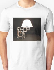 Articulated Desk Lamps - Copper and Chrome Collection - FredPereiraStudios_Page_14 Unisex T-Shirt