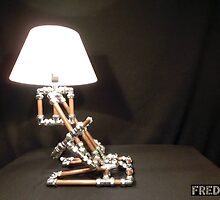 Articulated Desk Lamps - Copper and Chrome Collection - FredPereiraStudios_Page_18 by Fred Pereira