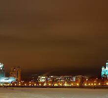 City landscape by Eduard Isakov