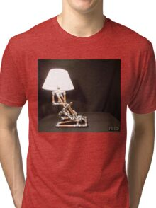 Articulated Desk Lamps - Copper and Chrome Collection - FredPereiraStudios_Page_18 Tri-blend T-Shirt