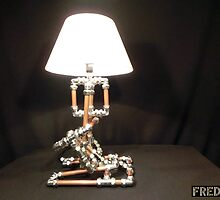 Articulated Desk Lamps - Copper and Chrome Collection - FredPereiraStudios_Page_19 by Fred Pereira