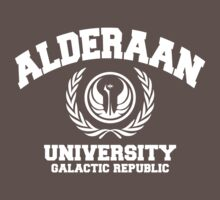Alderaan University White by balsamiq