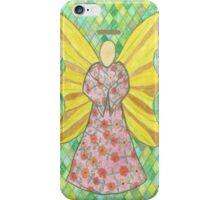 Flower Angel iPhone Case/Skin