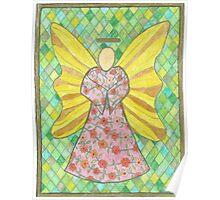 Flower Angel Poster